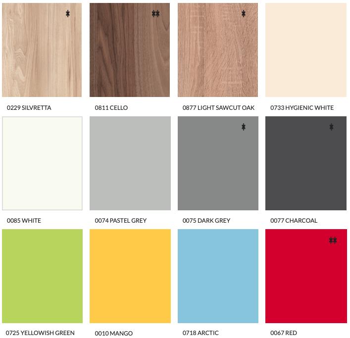 Exemple de couleurs